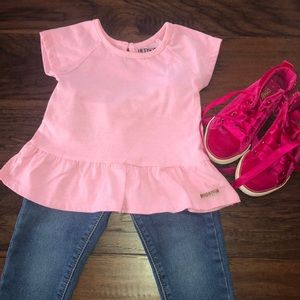 Bundle of Hudson Shirt+Jeans and Gymboree Shoes